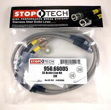 STOPTECH STAINLESS FRONT BRAKE LINES FOR 07-10 CHEVROLET SILVERADO 2500 / 3500