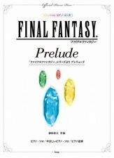 "Final Fantasy ""Prelude"" Official for Piano Solo and Two Pianos Sheet Music Book"