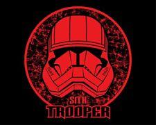 star wars SITH TROOPER stormtrooper helmet t-shirt rise of skywalker screenprint
