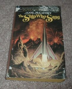 1976 THE SHIP WHO SANG Anne McCaffrey Ballantine SCIFI Paperback