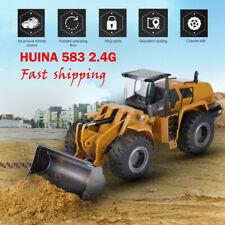 HUINA 583 2.4G 1:14 Electric Remote Control Model Bulldozer Engineering Vehicle#