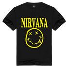 nirvana t shirt rock pop music band mens ladies kids