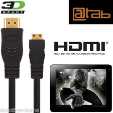 @tab Seven, 9.7, 10.1, 13.3 Android Tablet PC HDMI Mini TV 2.5M Wire Lead Cable