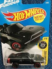 HOT WHEELS 2017 FAST & FURIOUS SERIES '70 DODGE CHARGER Black