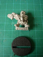 WH40K Rogue Trader Imperial IronClaw Squat Sgt Rock OOP Rare