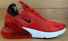 Nike Air Max 270 Size 9.5 Habanero Red Black White Mens Shoe AH8050-601