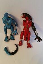 "Alien - 5"" figuras de acción X2 Kenner Fox 1993 Coleccionable dañado Retro Película Toy"