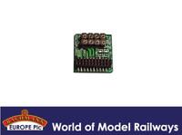 Bachmann 36-564 8 Pin Decoder Socket with Harness x1 OO Gauge