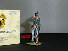 FIRST LEGION NAP0289 BRITISH 95TH RIFLES STANDING LOADING TOY SOLDIER FIGURE