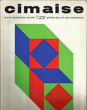 CIMAISE / ART ET ARCHITECTURE ACTUELS_janvier-fevrier-mars-avril 1970 _N° 95 -96