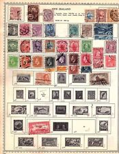 New Zealand Early to 1891-current  Stamp Collection 75 stamps  (ho2