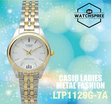 Casio Ladies' Standard Analog Watch LTP1129G-7A