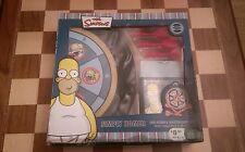BOXED THE SIMPSONS SIMPLY HOMER INFLATABLE DARTBOARD SET with BATH/SHOWER GEL