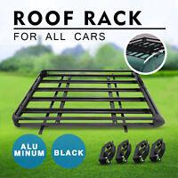 Universal Black Universal Aluminum Roof Rack Basket Xl-b Carrier Bar Platform