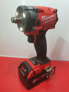 Milwaukee 18v Impact Wrench + 6Ah Battery - New Condition