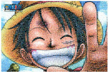 """Jigsaw Puzzles 1000 Pieces """"One piece Luffy : [Photo Mosaic]"""""""