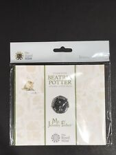 Jeremy Fisher Royal Mint Beatrix Potter BU 50p