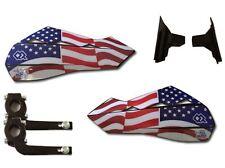 USA Hand Guards by Polisport Kawasaki KLR650 C1-C8 95-03.