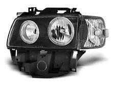 Paire de feux phares VW T4 96-03 bus angel eyes noir (W28)