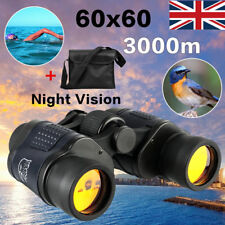 60x60 3000M HD Military Army Binoculars Telescope Night Vision Camping Hunting