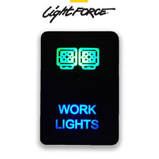 LIGHTFORCE WORK LIGHT REVERSE SWITCH DASH LAMP SUIT HILUX RANGER COLORADO FASCIA