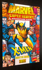 MARVEL SUPER HEROES Adventure Game (1988 TSR) -- X-Men Roster Book