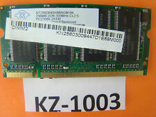 NANYA 256 MB PC2700 mémoire pour ordinateur portable NT256D64SH8BAGM-6K #kz-1003
