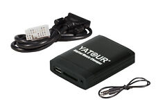 Yatoru Adaptador de USB,MP3, AUX, SD, CD para Honda 2.4 Accord Civic Jazz FR-V S