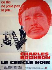 Affiche 60x80cm LE CERCLE NOIR /THE STONE KILLER 1973 Charles Bronson TBE