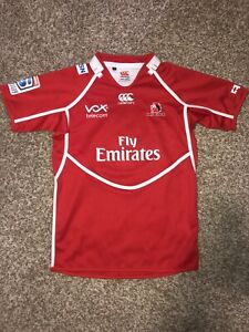 British and Irish Lions Home Rugby Union Shirt Vintage Boys L Jersey Canterbury