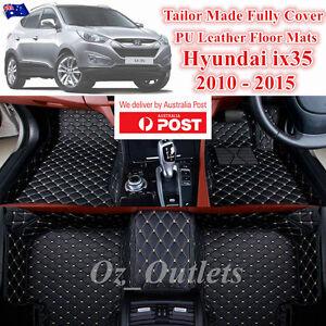 3D Cut Custom Made Waterproof Car Trunk Floor Mats fits Hyundai ix35 2010 - 2015