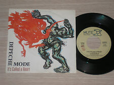 """DEPECHE MODE - IT'S CALLED A HEART / FLY ON THE WINDSCREEN - 45 GIRI 7"""" ITALY"""