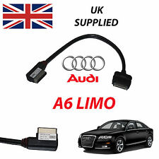 New AUDI A6 LIMO C7 2011 AMI MMI 4F0051510R iPhone iPod USB Audio Video Cable
