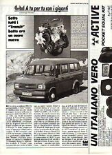 Z55 Ritaglio Clipping 1984 Ford Transit
