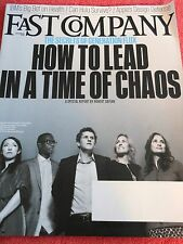 FAST COMPANY MAGAZINE NOVEMBER 2013 HOW TO LEAD IN A TIME OF CHAOS