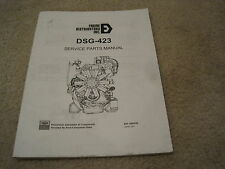 Ford DSG-423 Industrial Engine Parts Manual *NICE* Engine Distributors Inc 2.3L