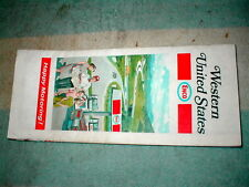 ENCO HUMBLE ROAD MAP WESTERN UNITED STATES EXC COND HARDLY USED HAPPY MOTORING