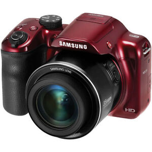 Samsung WB Series WB1100F 16.2MP Digital Camera - Red