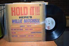 Willie Mitchell Hold It!!! LP Hi HL 12021 Mono