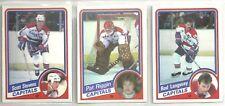 1984-85 O-Pee-Chee Hockey 14-card Washington Capitals Team Set  Scott Stevens