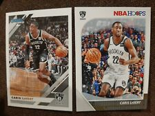 Lot(2) - Caris LeVert - 2020 Holiday NBA Hoops & 2020 Donruss - Brooklyn Nets