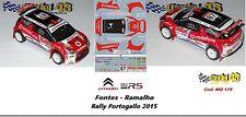 CITROEN DS3 R5  -  FONTES  - Rally  Portogallo   2015
