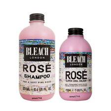 Bleach London Rose Shampoo - 250ml and Rose Super Cool Colour - 150ml