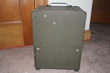 Signal Corps/U.S. Army Frequency Meter BC-221-AL Military Box Case Only Zenith