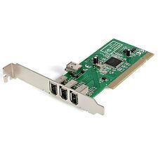 Startech.com adaptador tarjeta controladora FireWire 400 PCI