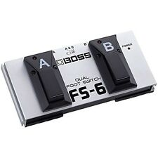 Roland FS-6 Boss Pedal Dual Foot Switch Fender Picks DUAL FOOTSWITCH New Japan