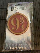 Harry Potter 9 3/4 Bag Tag Loot Crate Bioworld New