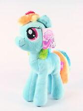 "MY LITTLE PONY cuddly RAINBOW DASH 10"" plush soft toy MLP G4 - NEW!"
