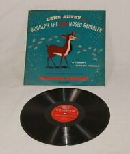 Schellackplatte - Gene Autry - Rudolph the red nosed reindeer - Canada 1949