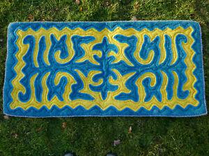 1,20 x 0,60m Filz Teppich Shirdak Schirdak Shyrdak Kirgisistan tappeto rug Kilim
